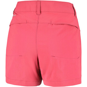 Columbia Saturday Trail Pantalones cortos Mujer, red coral